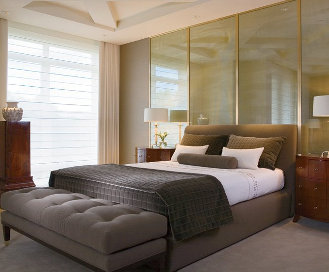 A Bedroom.  What are some simple Feng Shui rules for a bedroom