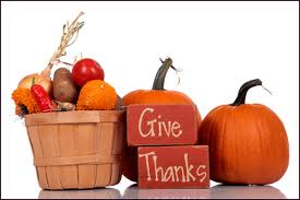 give thanks for thanksgiving