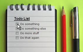 procrastination task list