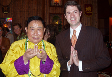 Feng Shui Consultant Ken Lauher with His Holiness Professor Lin Yun Rinpoche
